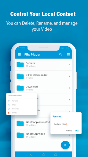 FlixPlayer for Android 2.3.7 Screenshots 2