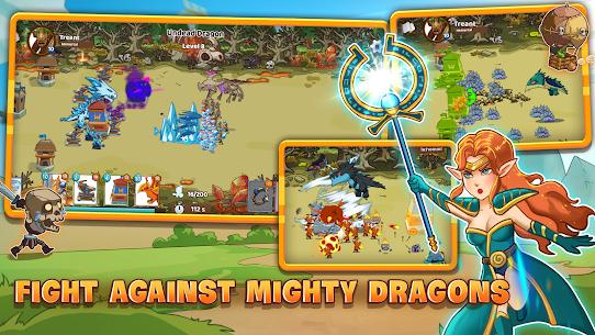 Mega War Mod Apk- lash of Legions (Unlimited Gold) 6