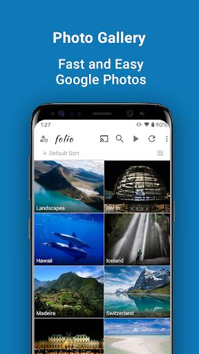pixFolio - Photo Gallery, Uploader and Slideshows  screenshots 1