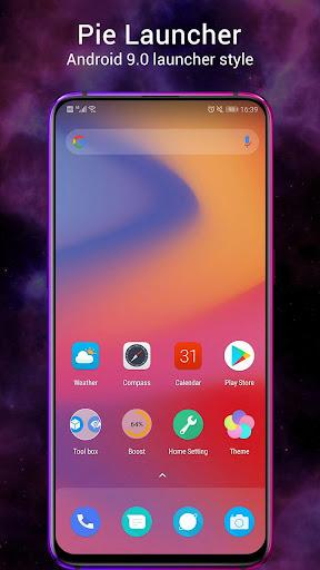 Pie Launcher 2021 ud83dudd25 10.3 Screenshots 1