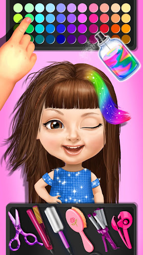 Sweet Baby Girl Beauty Salon 3 - Hair, Nails & Spa  screenshots 6
