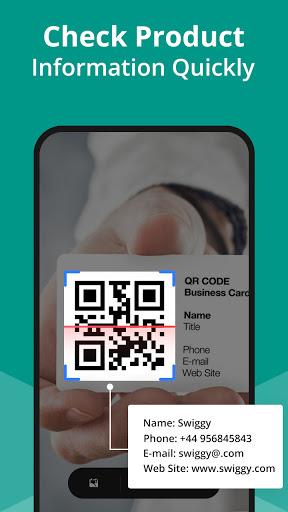 Free QR Code Scanner - Barcode Scanner & QR reader apktram screenshots 2