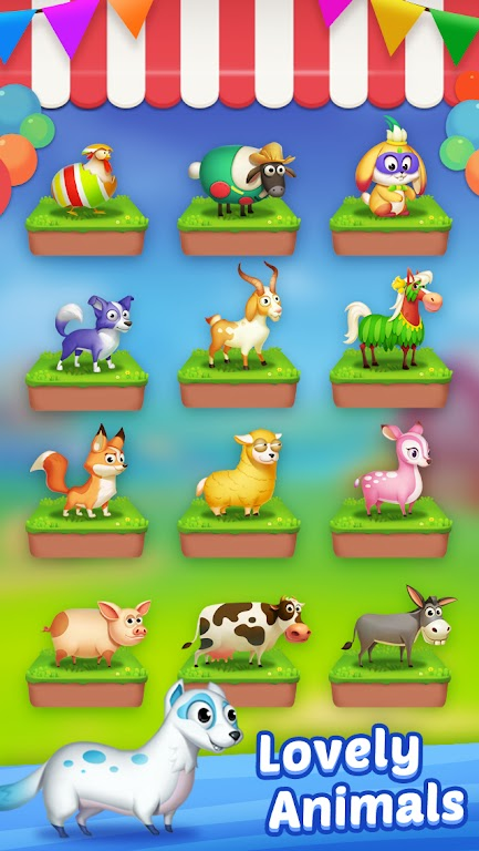 Solitaire - My Farm Friends poster 14