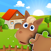 Farm Jigsaw Puzzles for kids & toddlers