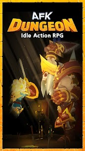 AFK Dungeon : Idle Action RPG Mod Apk 1.1.13 (Unlimited Gold/Diamonds/Stones) 4