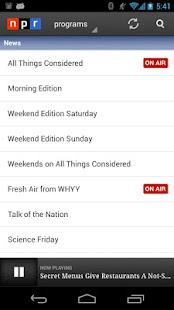 NPR News 2.7.5 APK screenshots 6
