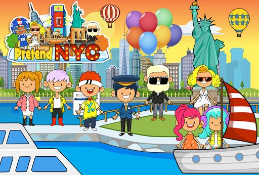 my pretend new york city - big gamele friends screenshot 2