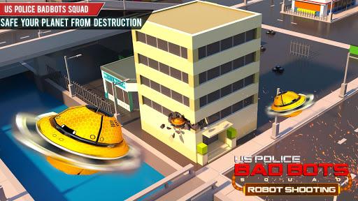US Police Robot Shooting Crime City Game 2.9 screenshots 7