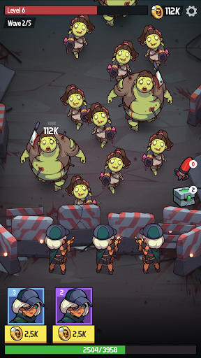 Télécharger Zombie Ahead! APK MOD (Astuce) screenshots 2