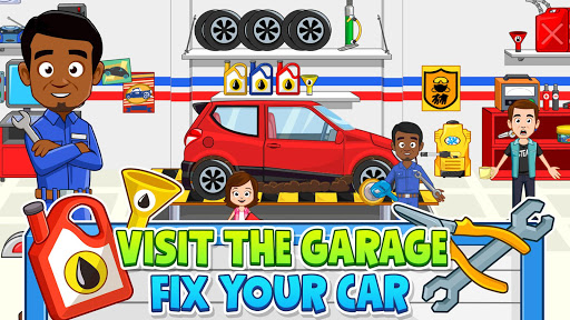 My Town: Car Garage. Wash & Fix kids Car Game Free 1.09 screenshots 13