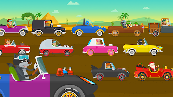 Racing car games for kids 2-5. Cars for toddlers