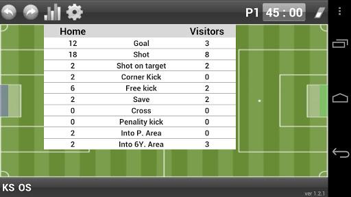 miks soccer stats screenshot 3