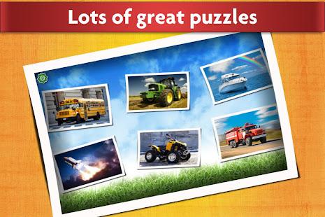 Cars, Trucks, & Trains Jigsaw Puzzles Game ud83cudfceufe0f screenshots 2