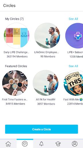 LIFE Fasting Tracker | Social Intermittent Fasting 5.1.9 Screenshots 5