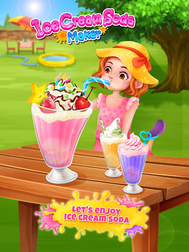 Ice Cream Soda - Summer Sweet Icy Drink Maker screenshots 4