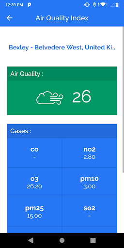 Air Quality Index screenshot 2