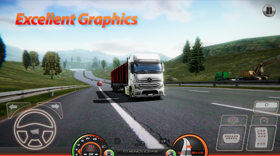 Truckers of Europe 2 (Simulator) MOD APK 0.41 (Unlimited Money) 9