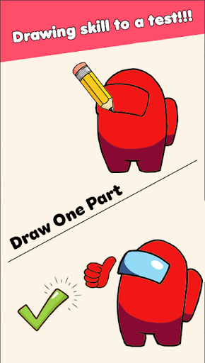 Draw Puzzle - Draw one part screenshots 12
