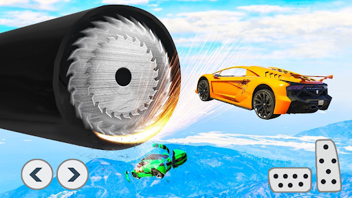 Superhero Car Stunts - Racing Car Games apkmartins screenshots 1