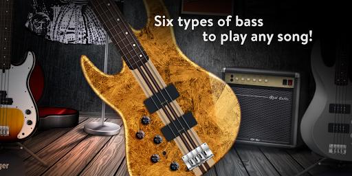REAL BASS: Electric bass guitar free  screenshots 3