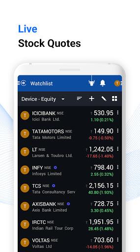 Edelweiss: Share Market Trading App, Sensex, Nifty android2mod screenshots 1