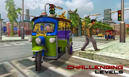 Tourist Transport Taxi: Tuk Tuk Driving Simulator  screenshots 4