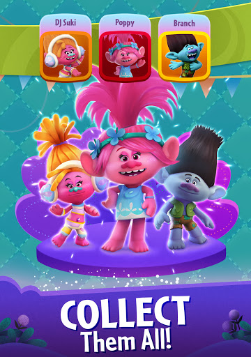 DreamWorks Trolls Pop: Bubble Shooter & Collection  screenshots 11
