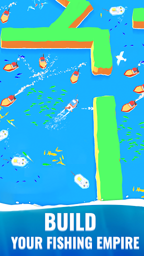 Fish idle: hooked tycoon. Your own fishing boat 4.0.0 screenshots 4