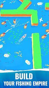 Fish idle: hooked tycoon. Your own fishing boat (MOD, Unlimited Money) 4