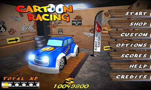 Cartoon Racing apktram screenshots 6