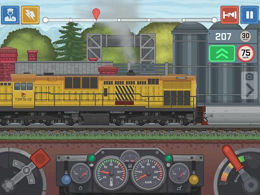 Train Simulator - 2D Railroad Game  Pc-softi 12