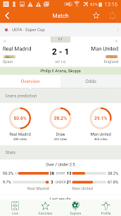 Futbol24 – soccer live scores & results 2