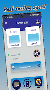 Extra VPN : Fast Secure Proxy Free Screenshot