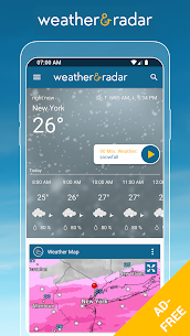 Weather & Radar USA Mod Apk- Winter alerts (Paid/Mod Extra) 1