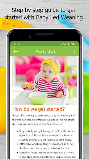 Baby Led Weaning - Guide & Recipes 2.6 Screenshots 8