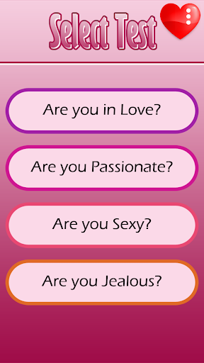 Love Tester in Englishud83dudc98  screenshots 3