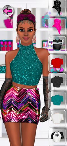 High Fashion Clique - Dress up & Makeup Game Girl 2.7 screenshots 5