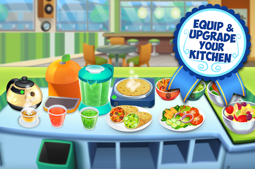 My Salad Bar - Healthy Food Shop Manager apkslow screenshots 4