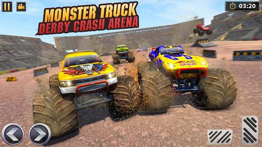 Real Monster Truck Demolition Derby Crash Stunts 3.0.8 screenshots 8