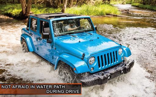 Offroad Jeep Driving Simulator: 4x4 Offroad Racing  screenshots 3