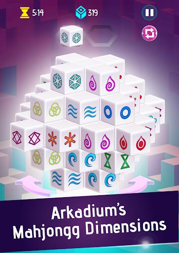 Mahjongg Dimensions: Arkadiumu2019s 3D Puzzle Mahjong apktram screenshots 2