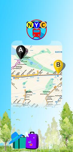 New York Subway - NYC MTA Map & Bus Transit App