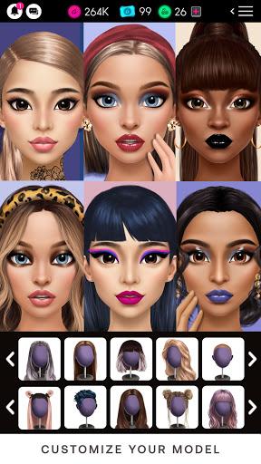 GLAMM'D - Style & Fashion Dress Up Game 1.2.6 screenshots 1