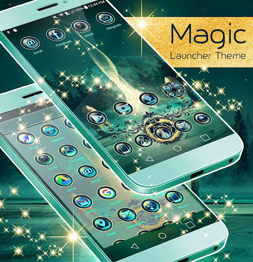 Magic Launcher Theme  screenshots 3