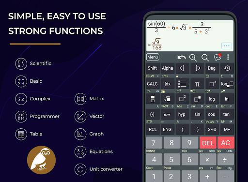 HiEdu Scientific Calculator : He-570 screenshots 1