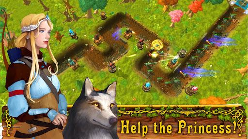 Fantasy Realm TD. Offline Tower Defense Game  screenshots 1