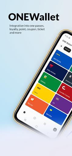 ONE Wallet - Your Pass Wallet 1.9.2 Screenshots 1