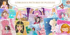 プリンセスパズル:女の子のためのゲームのおすすめ画像1