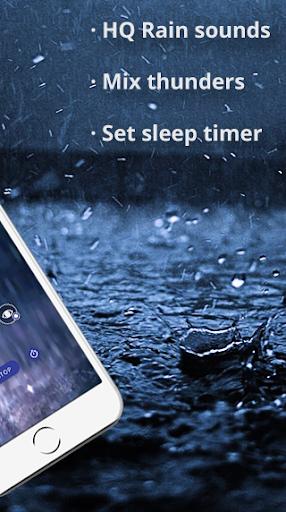Rain Sounds - Sleep Ambiance screenshots 2