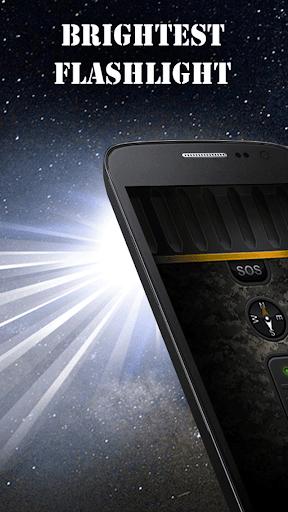 Military Flashlight Free android2mod screenshots 17
